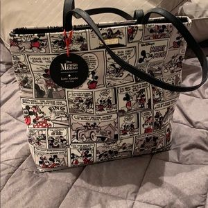 Authentic Kate Spade Minnie Mouse Comic Tote